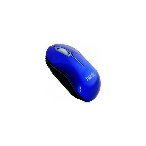 HAVIT Wired Optical Mouse [HV-MS232] - Blue - Mouse Basic